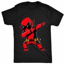 8TN dabbing dead Funny Sunglasses Boss Fan Ninja Pool Mens T Shirt