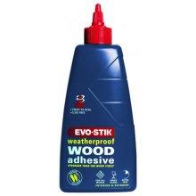 Evo-Stik WW500 Resin W Weatherproof Exterior Wood Adhesive 500ml