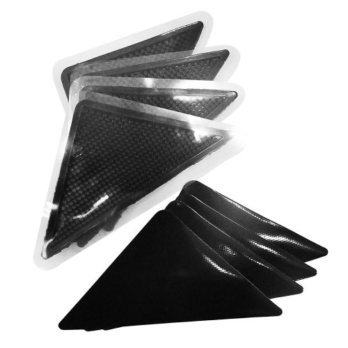 Ruggies Rug Carpet Mat Grippers Non Slip Skid Reusable Washable Grip 4 pack DIY