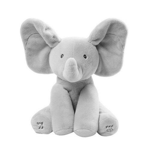 Elephanté The Flappy Ear Peek-A-Boo Elephant | Singing Elephant Toy