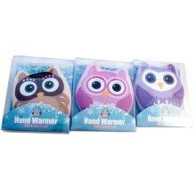 3pc Owl Hand Heater Set | Click & Heat Hand Warmers
