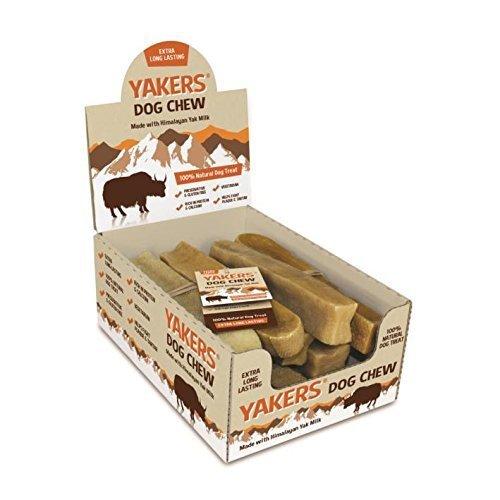 Yakers Dog Chew Extra Large x 10 - Yak Milk Value Box of 10 Chews