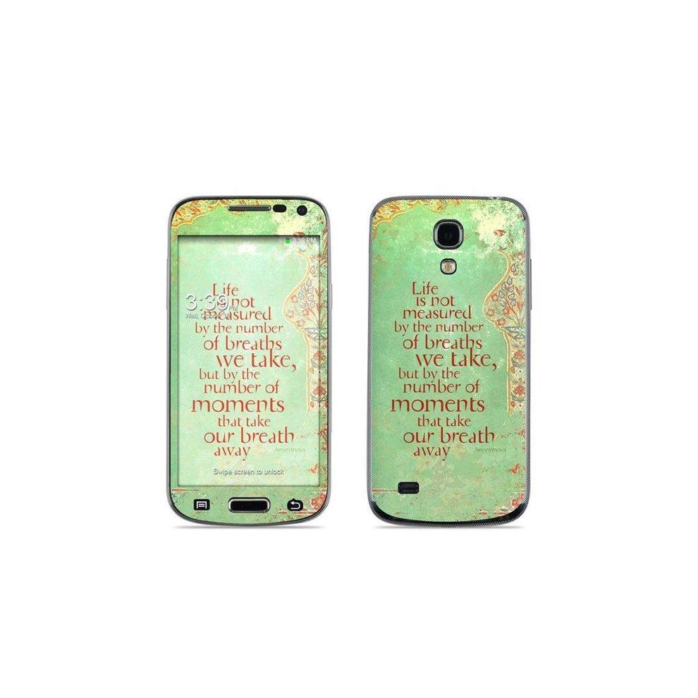DecalGirl SS4M MEAS Samsung Galaxy S4 Mini Skin Measured