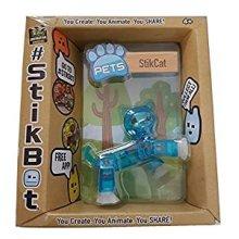 Stikbot Pets - StikCat (Blue)