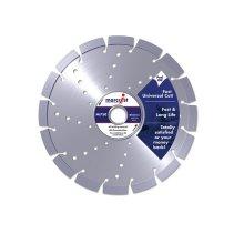 Marcrist 1111.0300.22 Mi750 Diamond Blade Long Life Universal Cut 300mm x 22.2mm