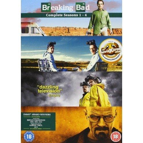 Breaking Bad Seasons 1 to 4 DVD [2012]