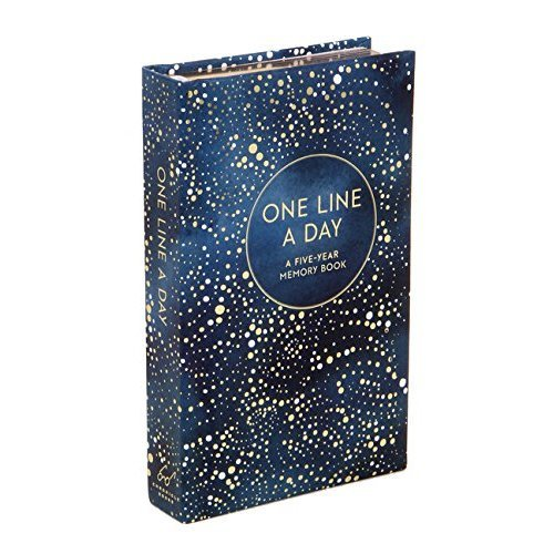 One Line a Day (Celestial): A Five-Year Memory Book (Journals)