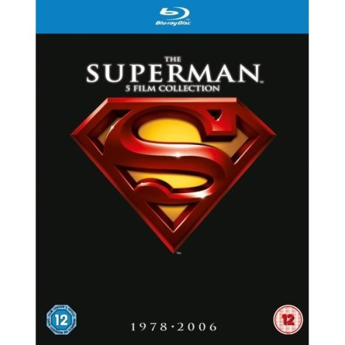 Superman - (5 Films) Collection 1 to V - 1 / 2 / 3 / 4 / Superman Returns Blu-Ray [2012]