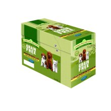 Jwb Puppy Dog Pouches Grain Free Lamb 100g (Pack of 12)