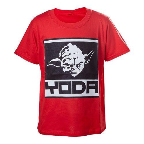 Kids T-Shirt Red Digital Dudz Moving Ninja Skills Large