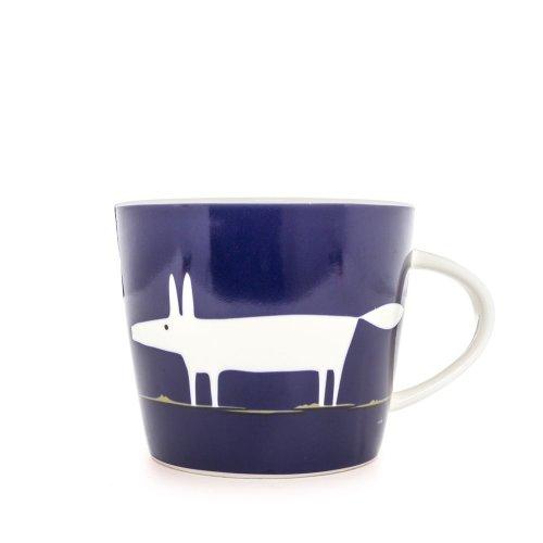 Scion Mr Fox Mug, 0.35L - Indigo