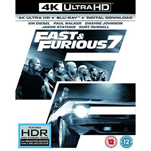 Fast & Furious 7 - Furious 7 4K Ultra HD [2017]