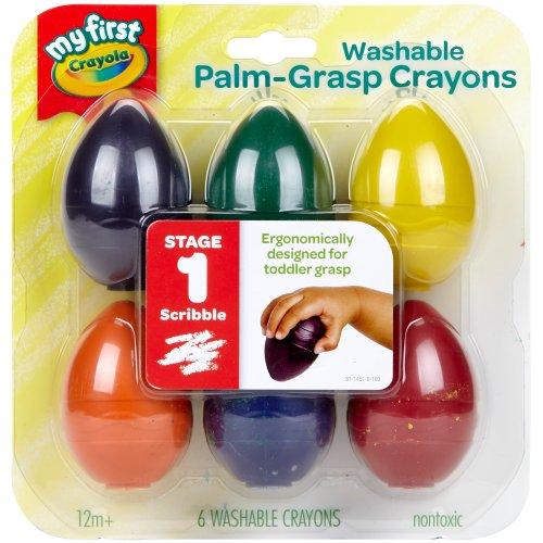Crayola My First Washable Egg Crayons-