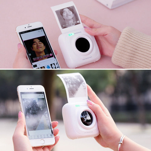 Instant Photo Thermal Printer Portable POS Phone Wireless Connection