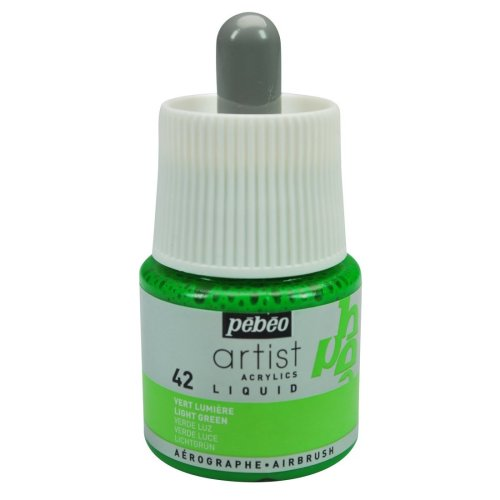 Pebeo Artist Acrylic Liquid Ink, Light Green