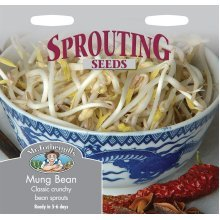 Mr Fothergills - Pictorial Packet - Sprouting Seeds - Mung Bean - 1200 Seeds