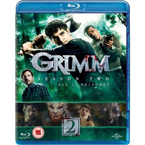 Grimm Season 2 Blu-Ray [2013]