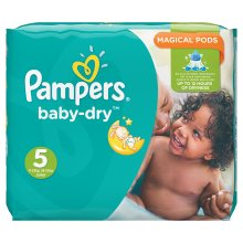 144pk Pampers Baby-Dry Nappies Monthly Saving Pack - Size 5