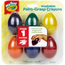 Crayola My First Washable Egg Crayons-