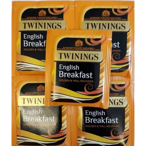 Twinings English Breakfast Tea - Individually Enveloped & Tagged