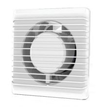 Low Energy Silent Bathroom Extractor Fan 100mm Timer Cord Switch Humidistat
