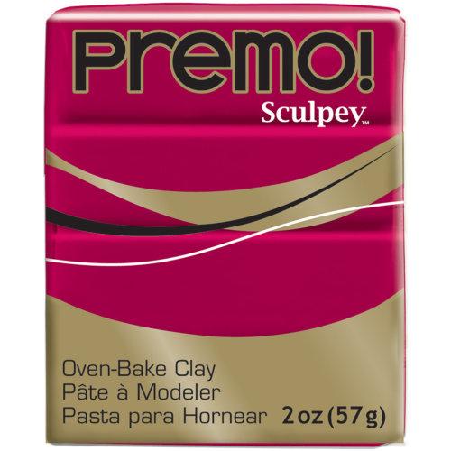 Premo Sculpey Polymer Clay 2oz-Alizarin Crimson