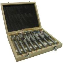 14-25mm Blacksmith Drill Set. HSS Te112 - Blacksmiths 8pc Set Twist 1425mm -  hss blacksmiths drill 8pc set twist 1425mm quality workshop engineering