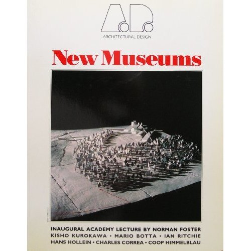 New Museums (Architectural Design Profile) - Used