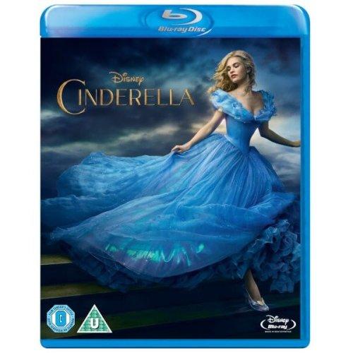 Cinderella (Live Action) Blu-Ray [2015]