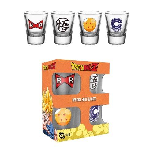 Dragon Ball Z Mix Shot Glasses