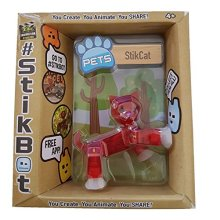 Stikbot Pets - StikCat (Red)