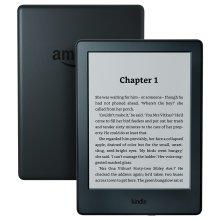 "Kindle E-Reader, 6"" Glare-Free Touchscreen Display, Wi-Fi (Black) - Refurbished"