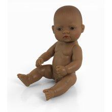 Miniland Miniland31037 32 cm Hispanic Boy Doll without Underwear