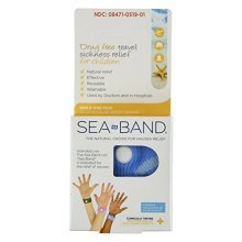 Sea-Band For Children Wristband (Colors May Vary) 1 Pair (Pack of 2)