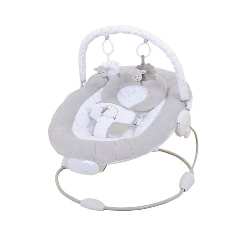 East Coast Counting Sheep Bouncer   Grey Baby Bouncer
