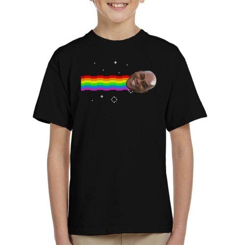 Ainsley Harriott Nyan Cat Meme Kid's T-Shirt