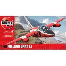 Airfix Folland Gnat 1:48 Plastic Model Kit