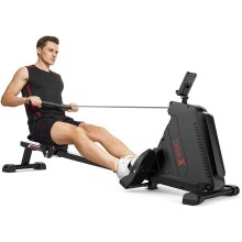 Dripex Folding Magnetic Rowing Machine with 16 Adjustable Resistances