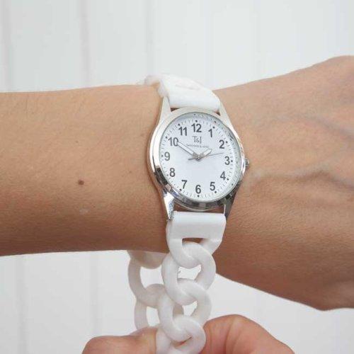 Silicone Stretch Band Watch