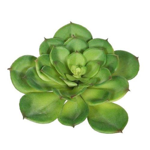 Vickerman FA170701 Green Single Cactus Succulent - Pack of 3