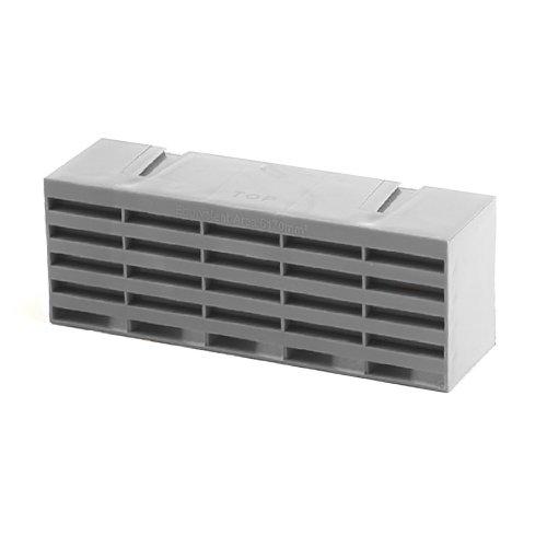 "5 x Grey Air Bricks Vent 9"" x 3"" Grille AirBrick Flow Ventilation"