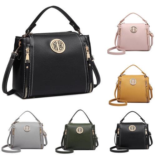 Miss Lulu Stylish PU Leather Handbag Shoulder Bag