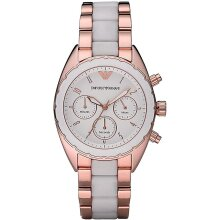 Emporio Armani AR5942 Women's Watch Dual Tone,New with Tags