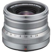 Fujifilm XF 16mm f/2.8 R WR Lens Silver.
