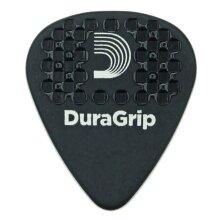 D'Addario Planet Waves Duralin DuraGrip Guitar Picks Extra Heavy 1.5mm Black 25 Pack 7DBK7-25