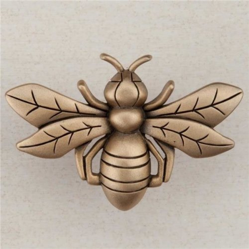 Artisan Collection Bee Knob, Museum Gold