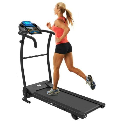 Nero Bluetooth Motorised Folding Running Machine | Electric Home Treadmill