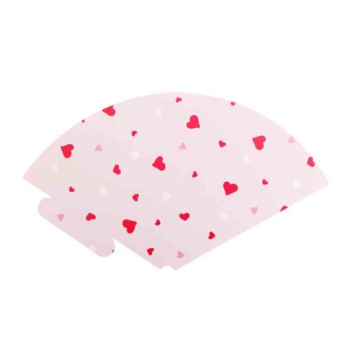 20 Sheets Korean Style Ice Cream Flower Wrapping Paper Florist Bouquet Gift, Heart