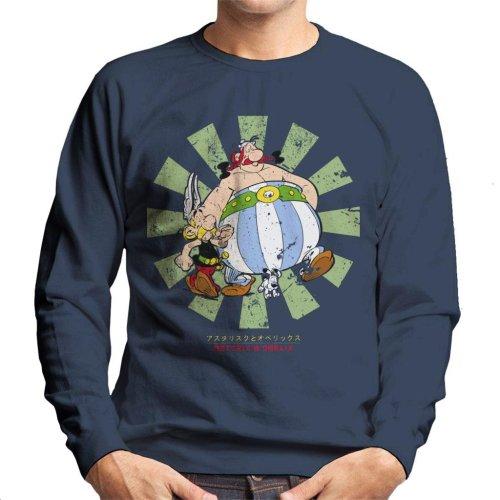 Asterix And Obelix Retro Japanese Men's Sweatshirt