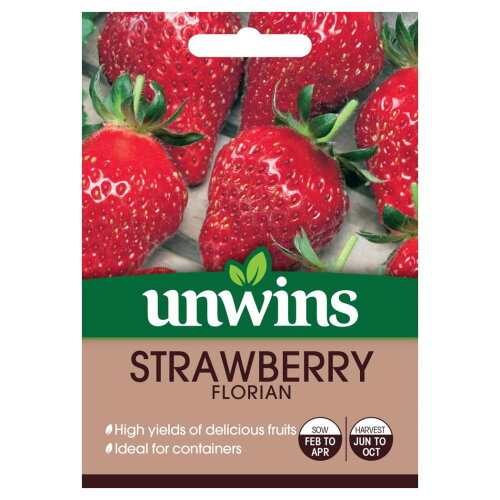 Unwins Grow Your Own  Delicious Florian Strawberry Fruit Seeds